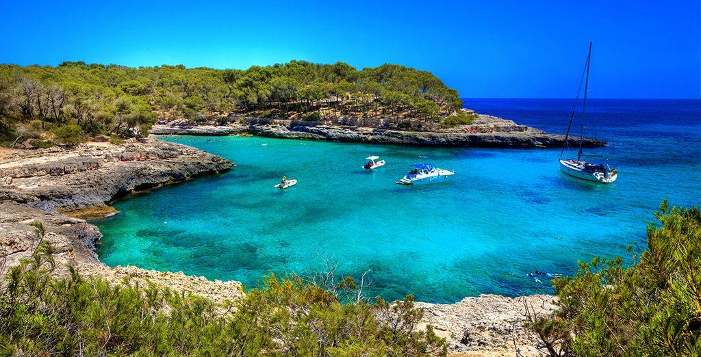 Direction l'île de Majorque