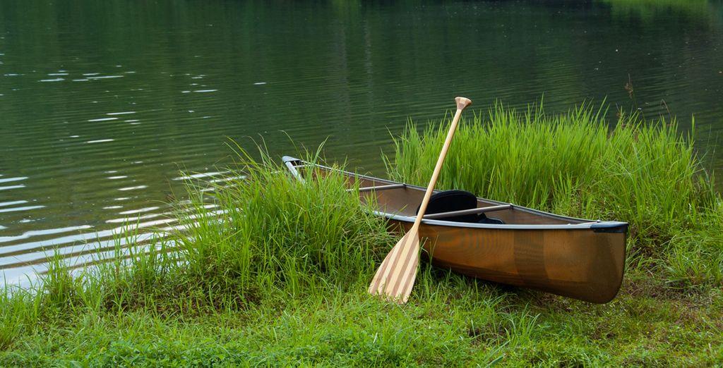 Accordez-vous un moment découverte en canoë...