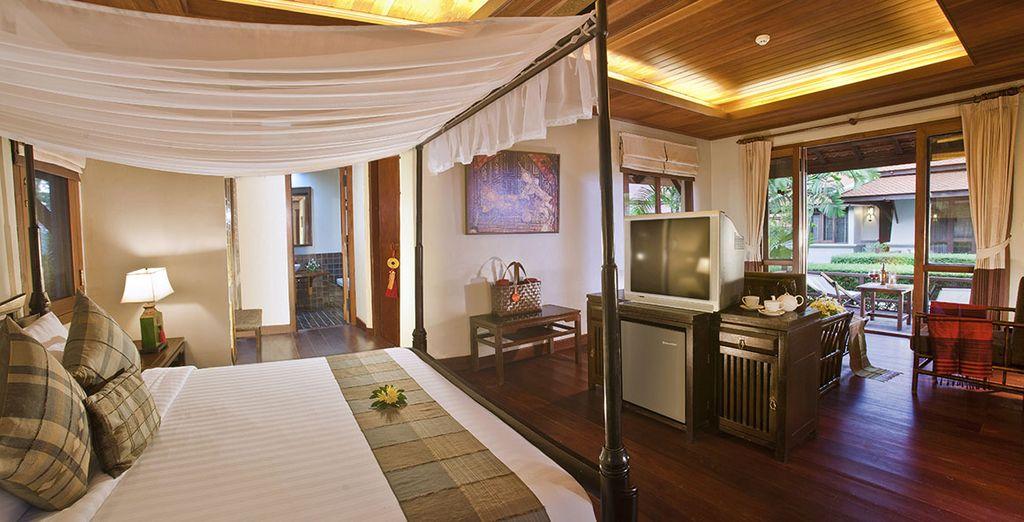 Installez-vous dans votre charmante Oriental Villa