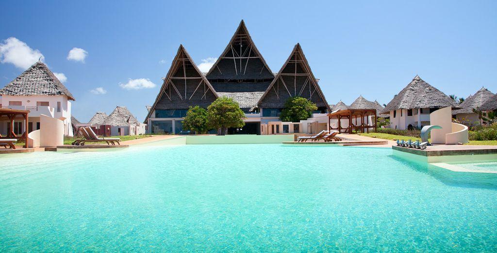 L'hôtel Essque Zalu vous accueille - Hôtel Essque Zalu 5* avec ou sans Stop Over à Oman Zanzibar
