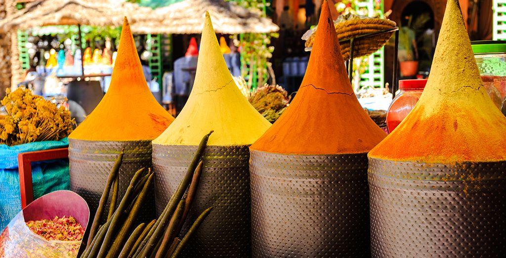 Venez vous imprégner des saveurs et de l'art de vivre marocain