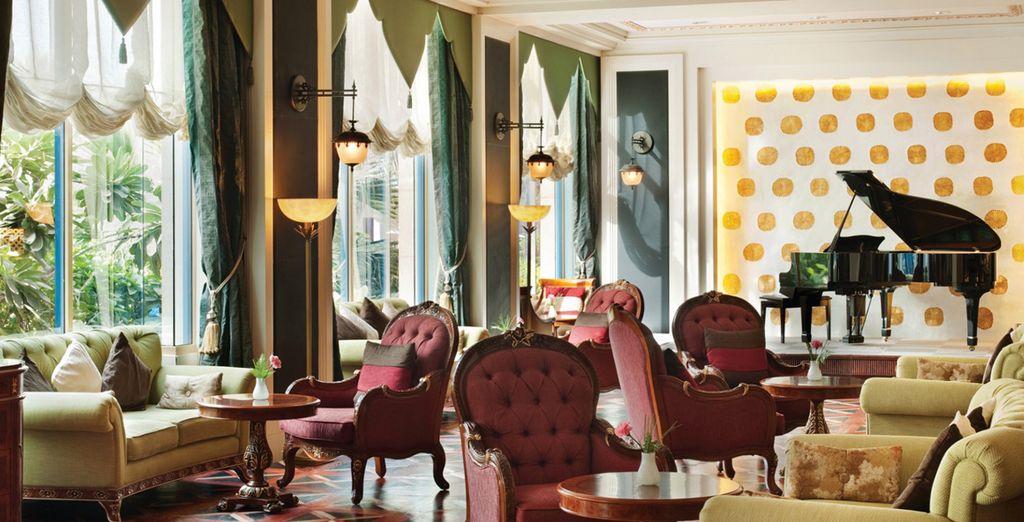 Une fois arrivé, vous serez charmé par les décors orientaux grandioses de votre hôtel