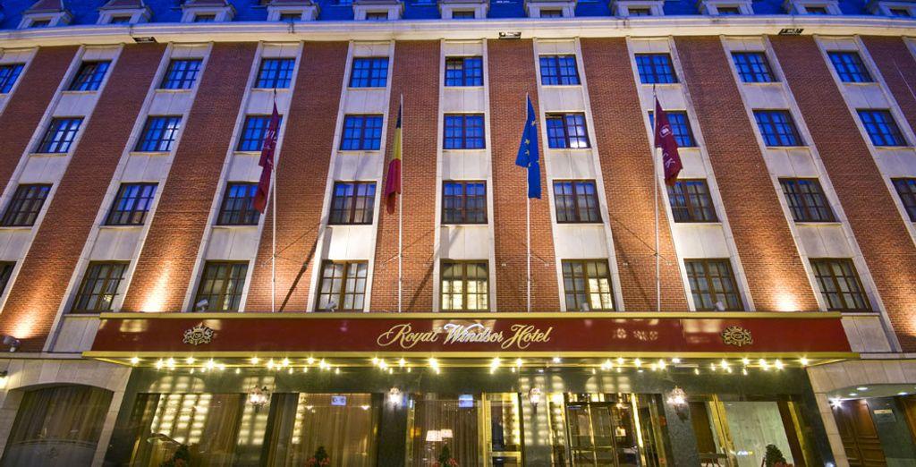 Vous séjournerez au Royal Windsor Hôtel Grand Palace - Hôtel Royal Windsor 5* Bruxelles
