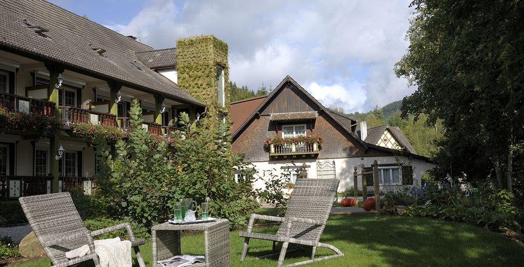 au coeur de l'Alsace... - Hostellerie La Cheneaudière 4* & Spa Colroy La Roche