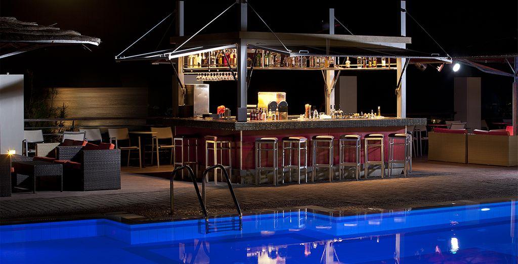 Ou un dernier verre autour de la piscine...