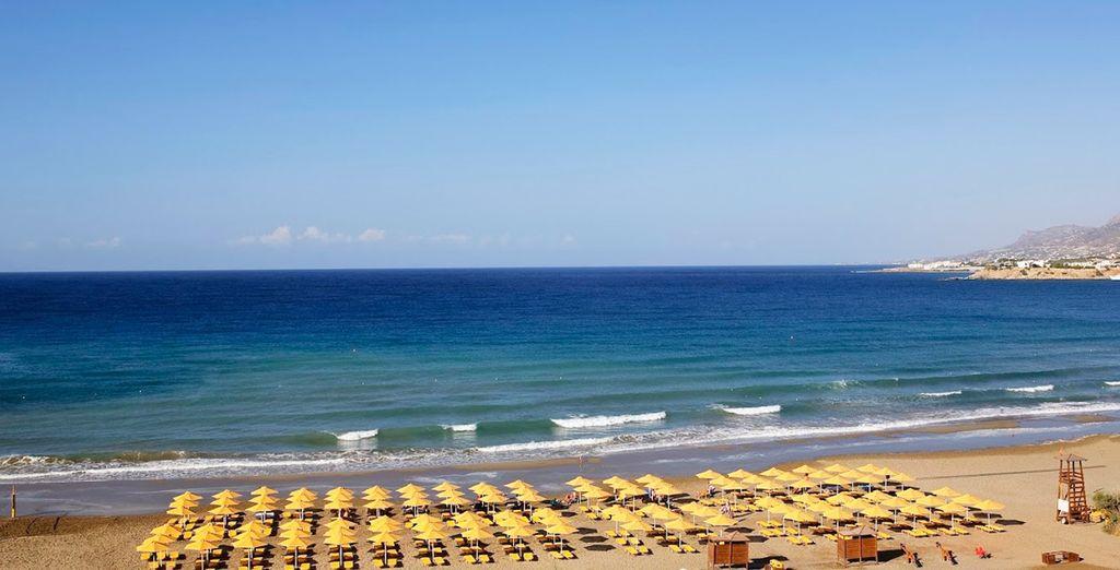 Entre plage de sable...