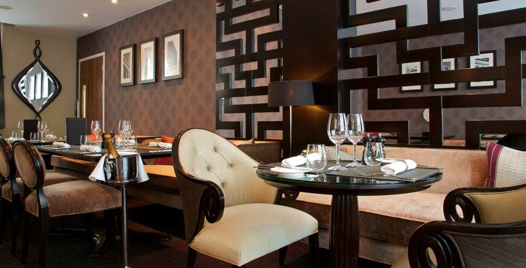 Rendez-vous au restaurant de l'hôtel, le Dieci...