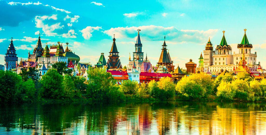 Offrez-vous un instantané de découvertes en Russie !
