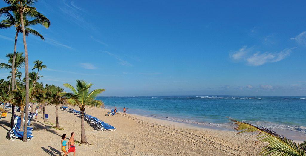 À Punta Cana, somptueuse station balnéaire !