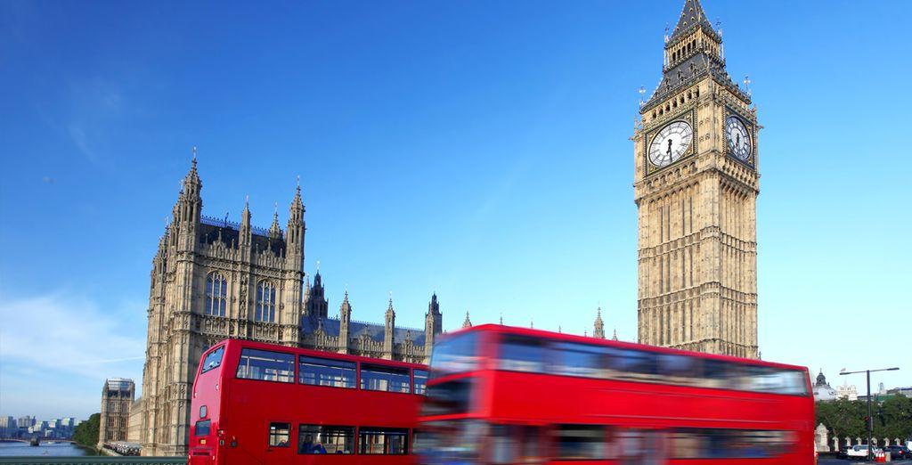 Revenez de Londres des souvenirs plein la tête.
