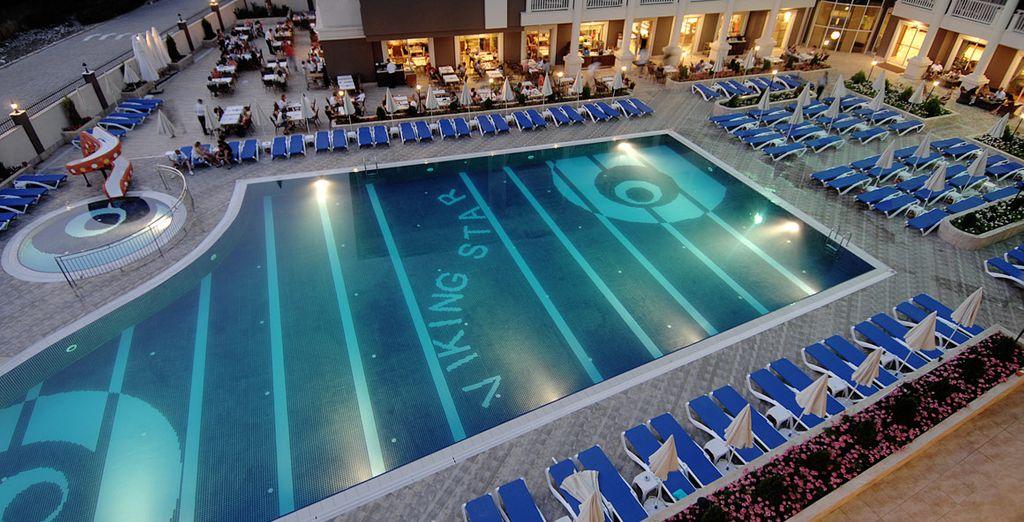 Laissez-vous tenter par la piscine pour quelques brasses