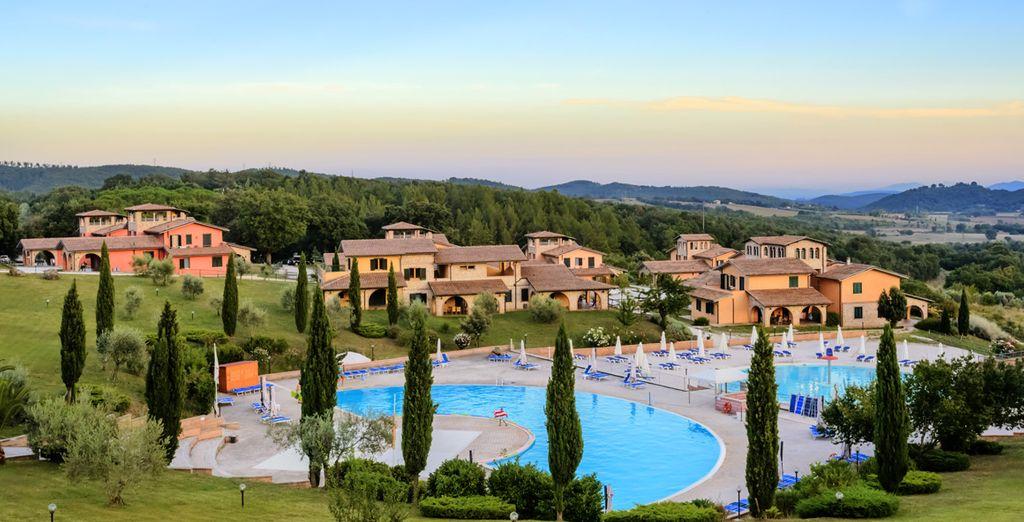 Bienvenue au cœur de la Toscane...