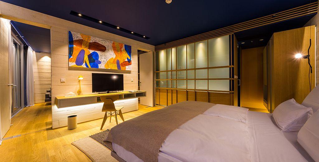 Et posez vos valises dans des chambres des plus luxueuses