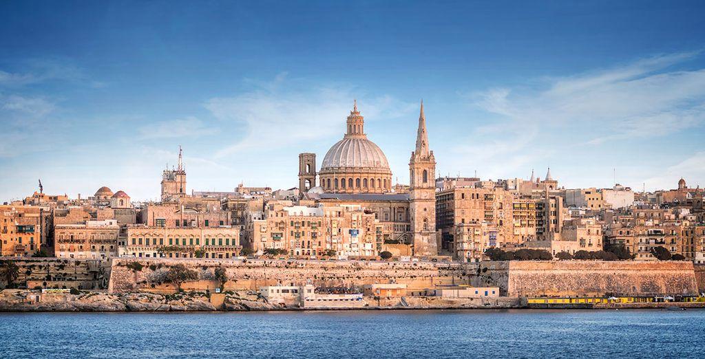 Ou bien encore à Malte...