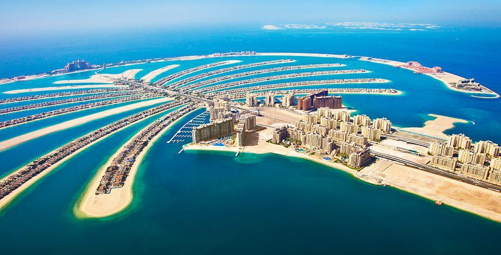 L'incroyable île artificielle de Palm Jumeirah