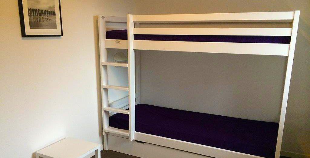 Des chambres confortables vous attendent