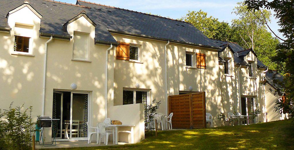 À l'architecture d'inspiration bretonne