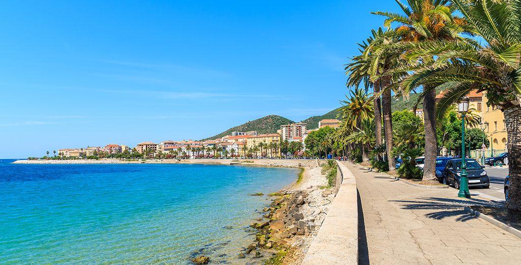 Photographie de Portoccio et les côtes méditerranéenne