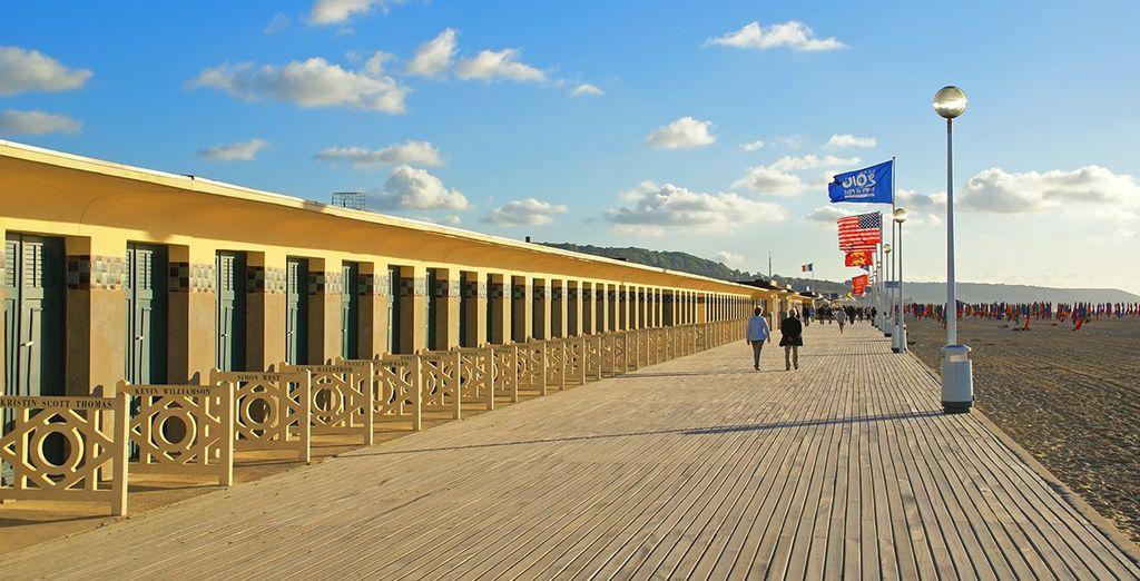 Et faites une halte à Deauville...