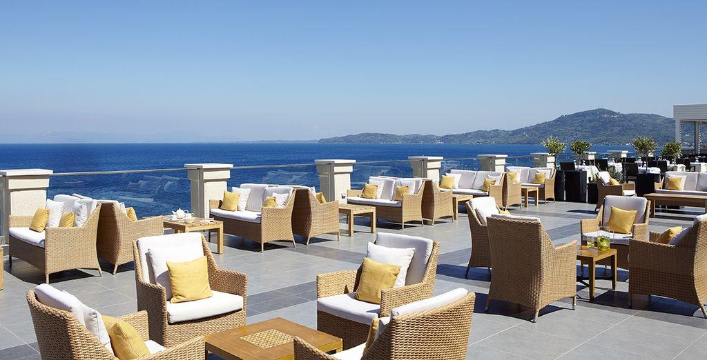 L'hôtel vous proposera de nombreux espaces de relaxation...