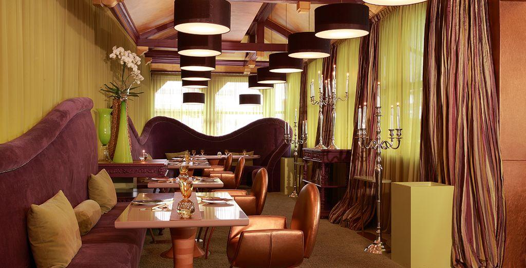 Offrez-vous un dînez au restaurant gastronomique étoilé