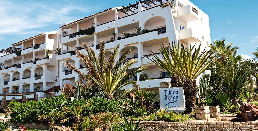 Où l'Hotel Riu Tikida Beach 4* vous tend les bras