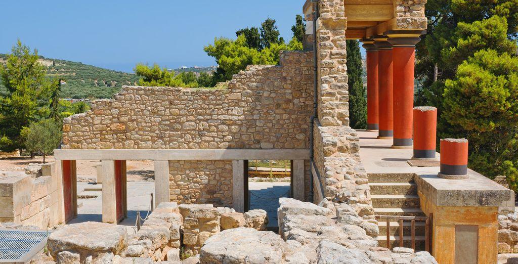 Le Palais de Knossos, le plus grand et raffiné palais crétois