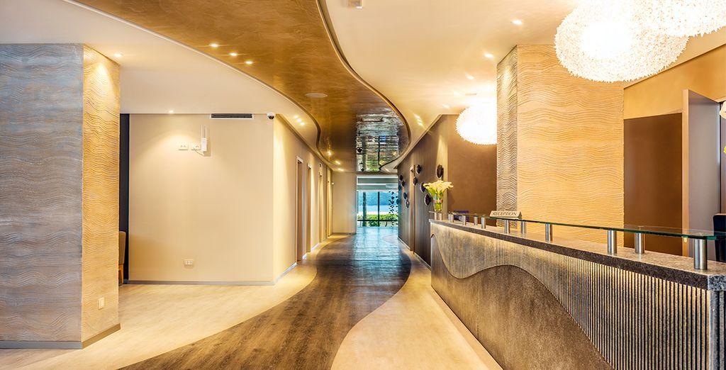 Un hôtel moderne, à l'accueil chaleureux