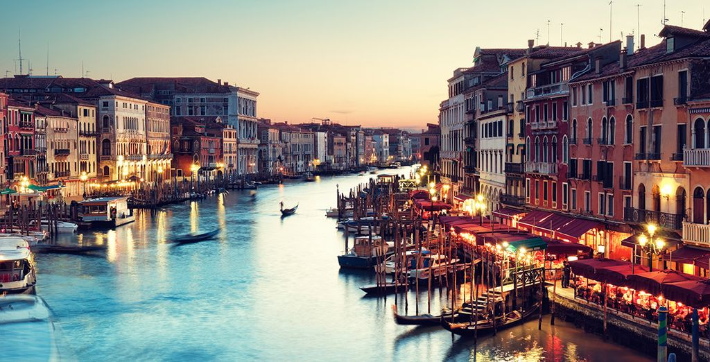 Bienvenue à Venise...