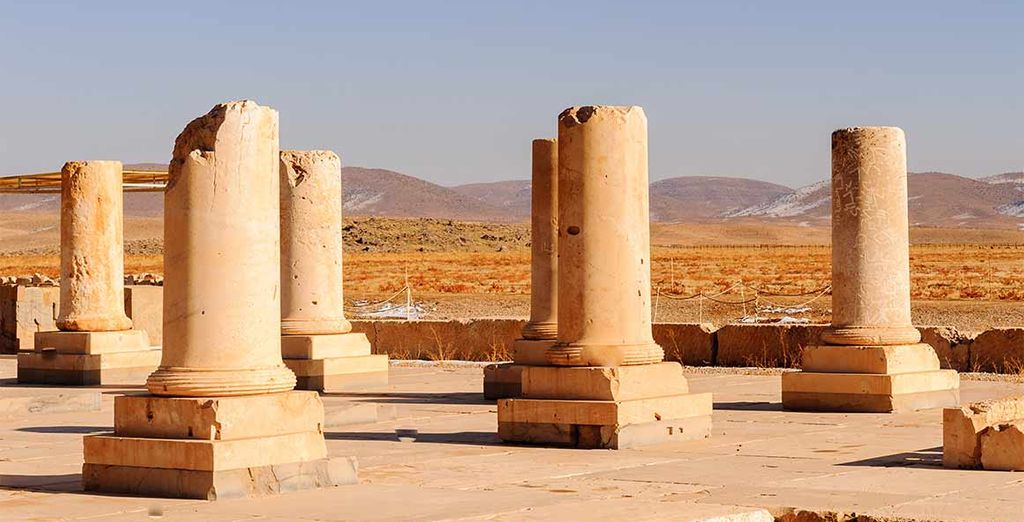 ... Pasargades et ses vestiges