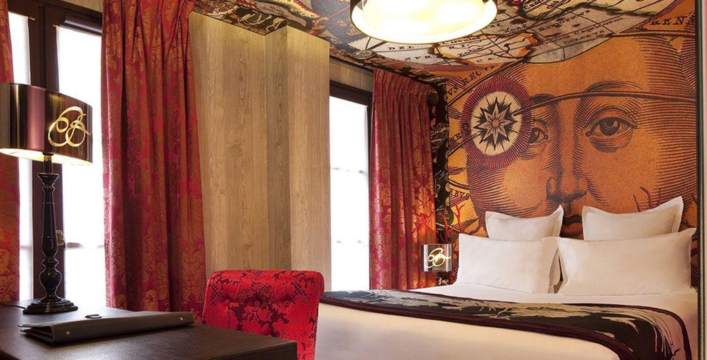 Bienvenue à l'hôtel Le Bellechasse...
