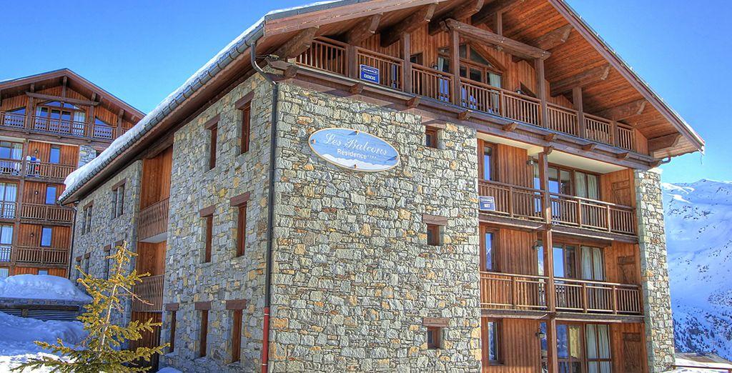 Bienvenue dans votre résidence... - Résidence Les Balcons de la Rosière 4* La Rosière - Montvalezan
