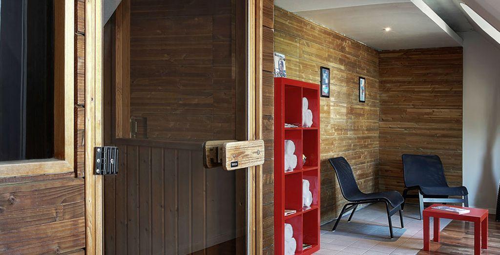 Si le coeur vous en dit, un sauna ainsi qu'un hammam sont à votre disposition !