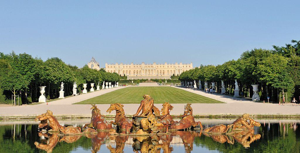 N'oubliez pas de venir faire un tour à l'immanquable Château de Versailles...
