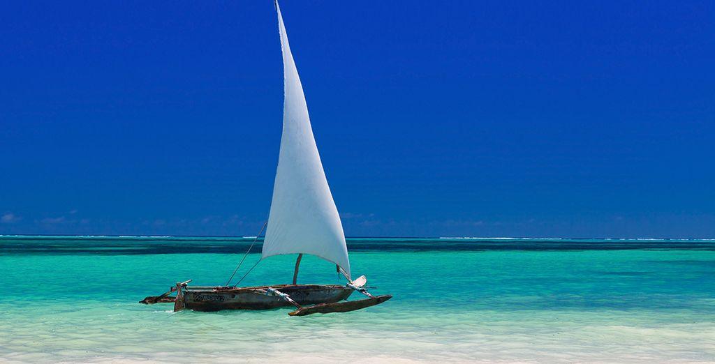 Au sud-est de l'île de Zanzibar