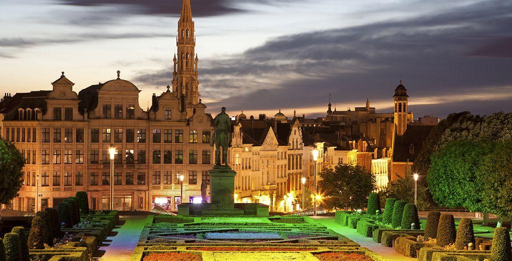 Une ville magique... Bon séjour
