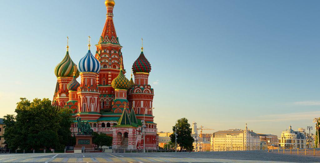 Où vous découvrirez ses incontournables comme le Kremlin...