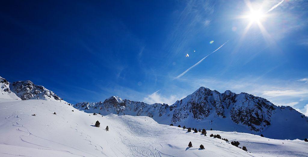 Embarquez pour un séjour de ski enchanteur... - Appart Vacances Pyrénées 2000 Bolquère