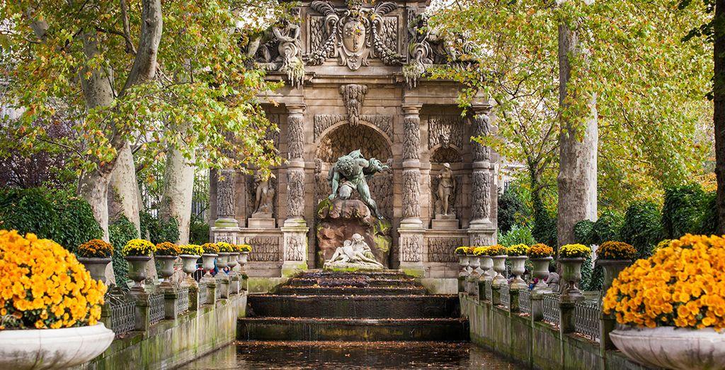 Il vous faudra rencontrer le tout Paris ! Des Jardins du Luxembourg...
