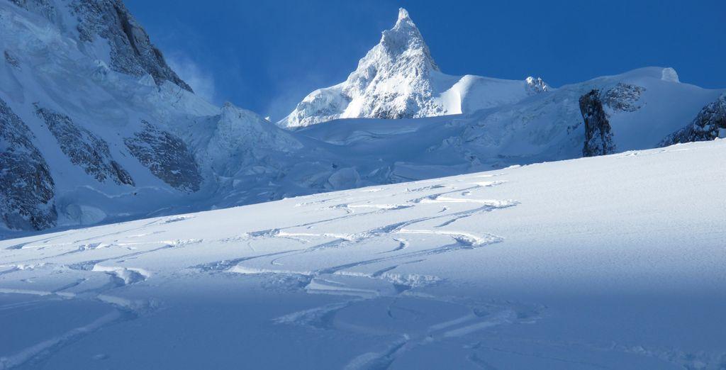 Après avoir dévalé les nombreuses pistes de ski