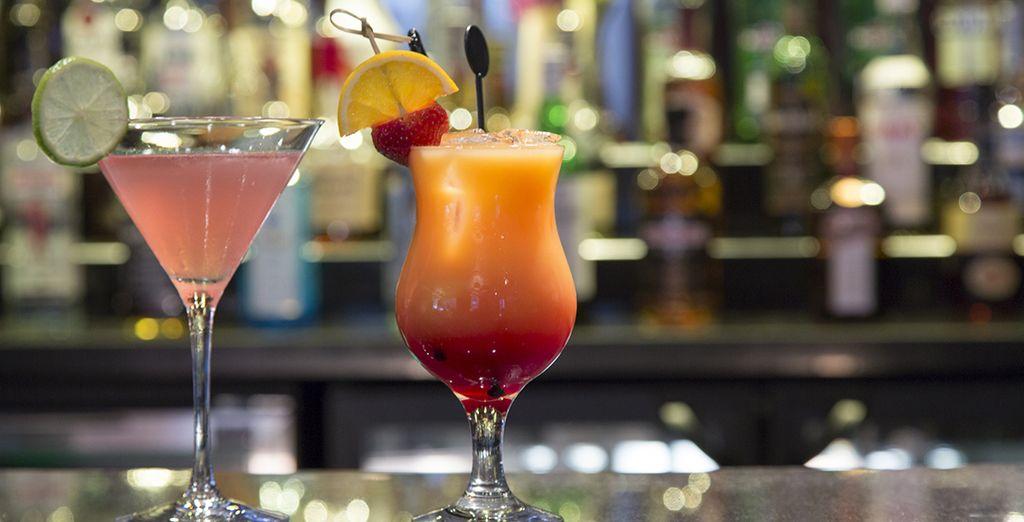 La journée se terminera tout en couleur, par un cocktail
