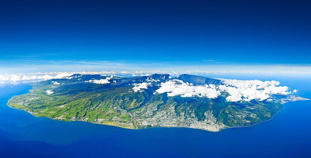 Suivez-nous à La Réunion...