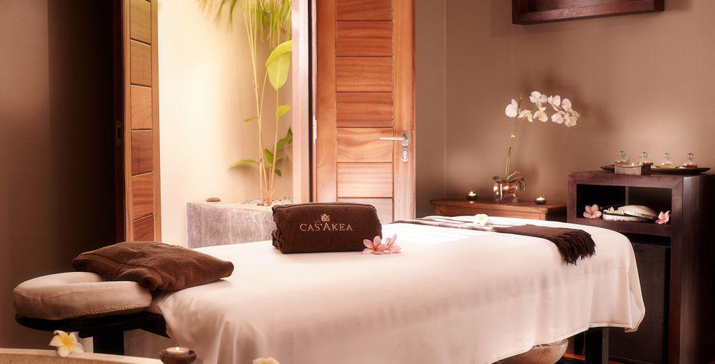 Et offrez-vous un massage délassant au Spa Cas'Akea