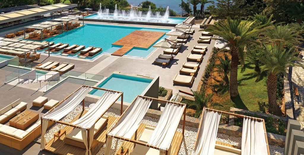 Entre végétation luxuriante et mer Égée - Out of the Blue, Capsis Elite Resort - Crystal Energy Hôtel 5* Heraklion