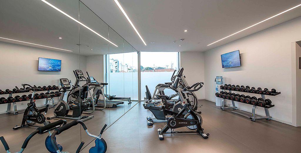 Echauffez-vos muscles à la salle de fitness
