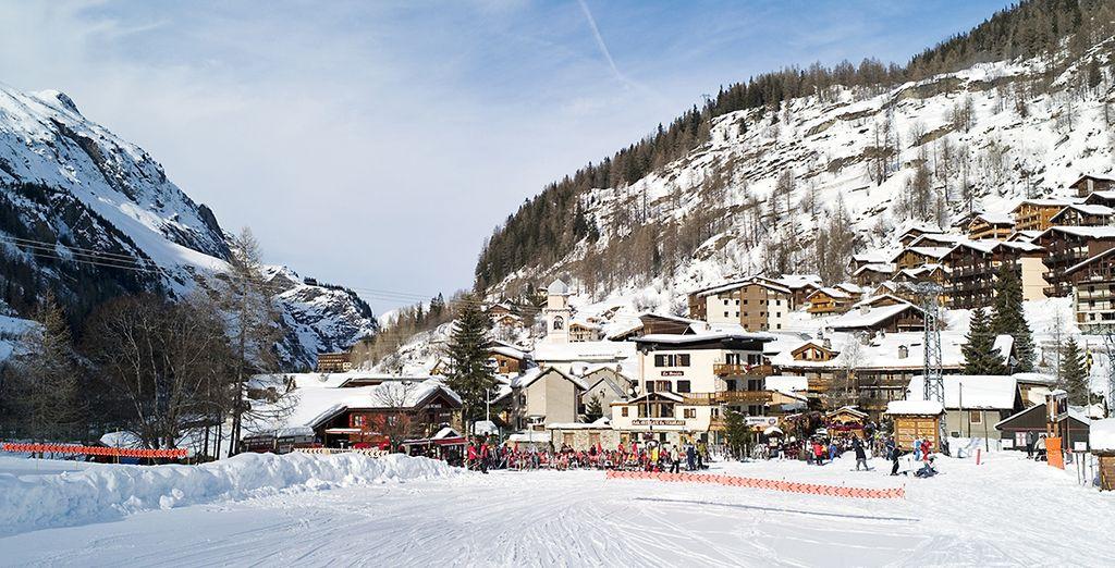 Les pistes de ski vous attendent !