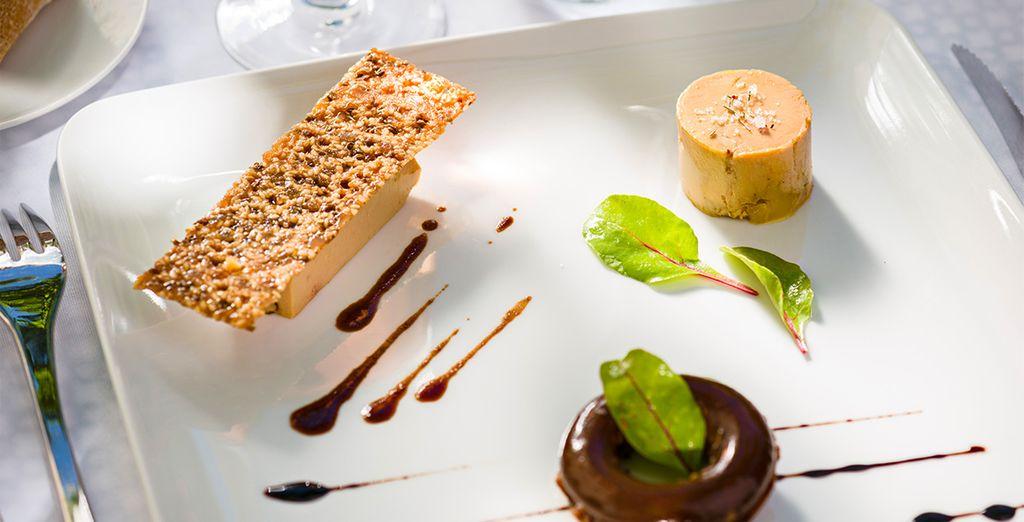 Goûtez aux délices d'une cuisine raffinée, savoureuse...