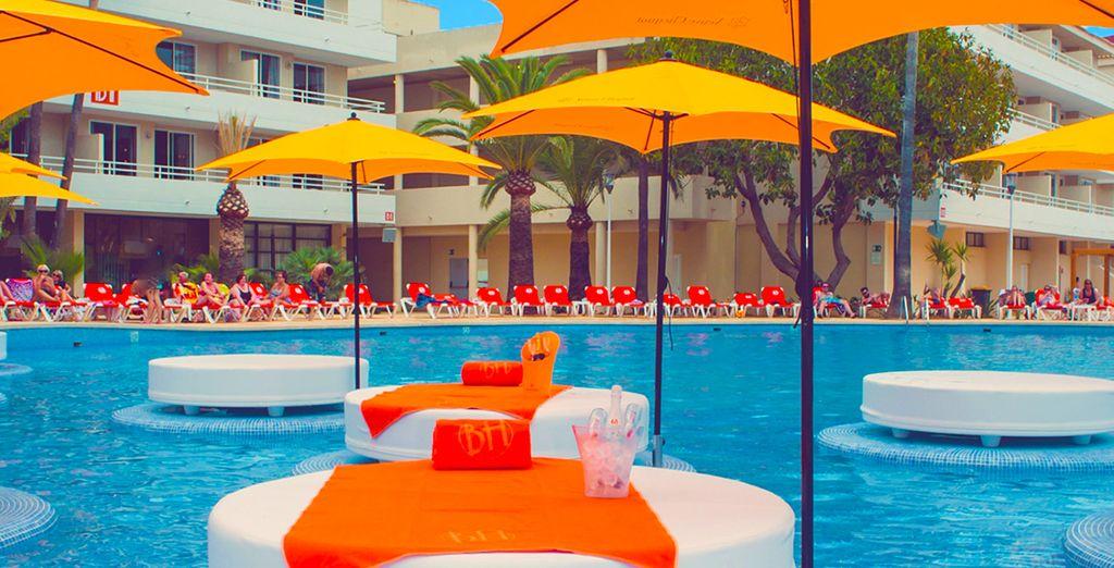 ... à la piscine vos journées seront bien chargées !