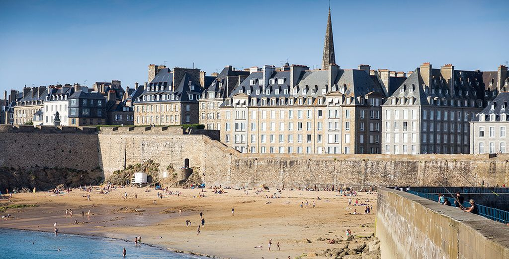 Et vous souhaite la bienvenue à Saint-Malo ! - Résidence Pierre & Vacances Ty Mat Saint Malo