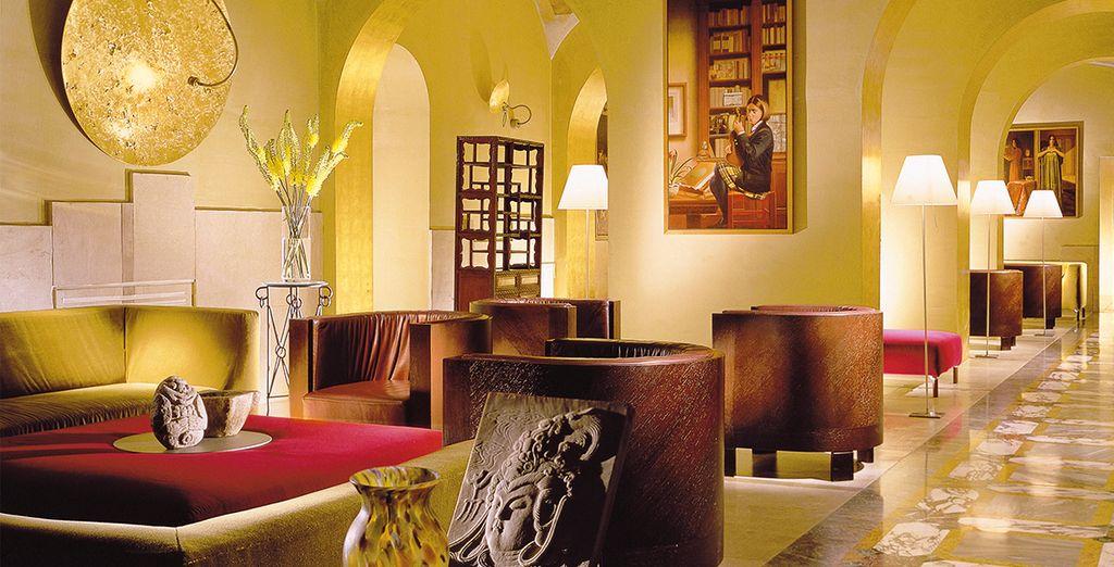 Envie d'un séjour haut de gamme dans un cadre mêlant styles classique et moderne ? - Hôtel Empire Palace 4* Rome